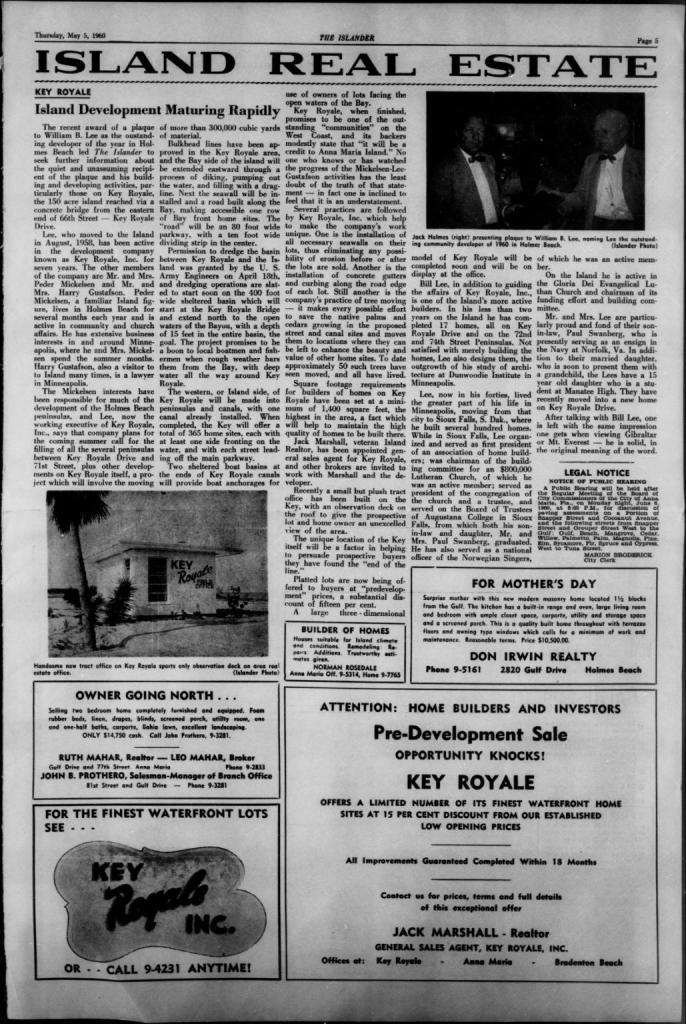 Islander Newspaper May 1960
